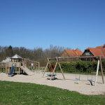 Spielplatz neben dem Ferienpark