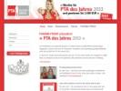 Neue Homepage PTA des Jahres