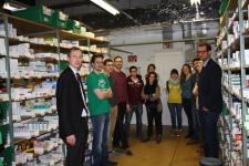 Pharmaziestudenten zu Gast in NMS I