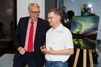 Ulrich Kehr und Gert Fiedler im Gespräch