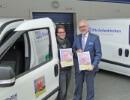Otto Geilenkirchen protestiert gegen AKW