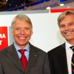 90 Jahre Kehr: Ulrich und Hanns-Heinrich Kehr (von links) stehen seit Anfang der 1980er Jahre an der Spitze des Privatgro�h�ndler, der in diesem Jahr Jubil�um feiert.
