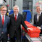 Aus der Konkursmasse der Apothekenkooperation Gesine erwerben die Unternehmer Anfang 2013 den nagelneuen Gesine-Standort in Ludwigsfelde.