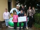 Max Jenne Spendenübergabe KinderTafel