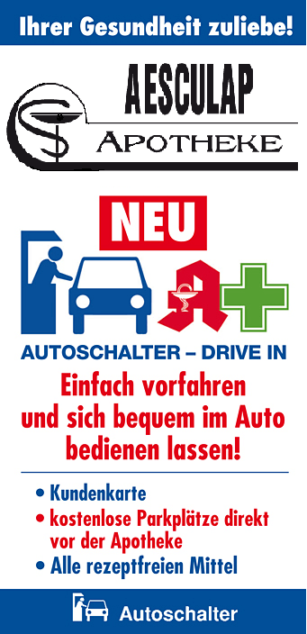 drive in logo aesculap