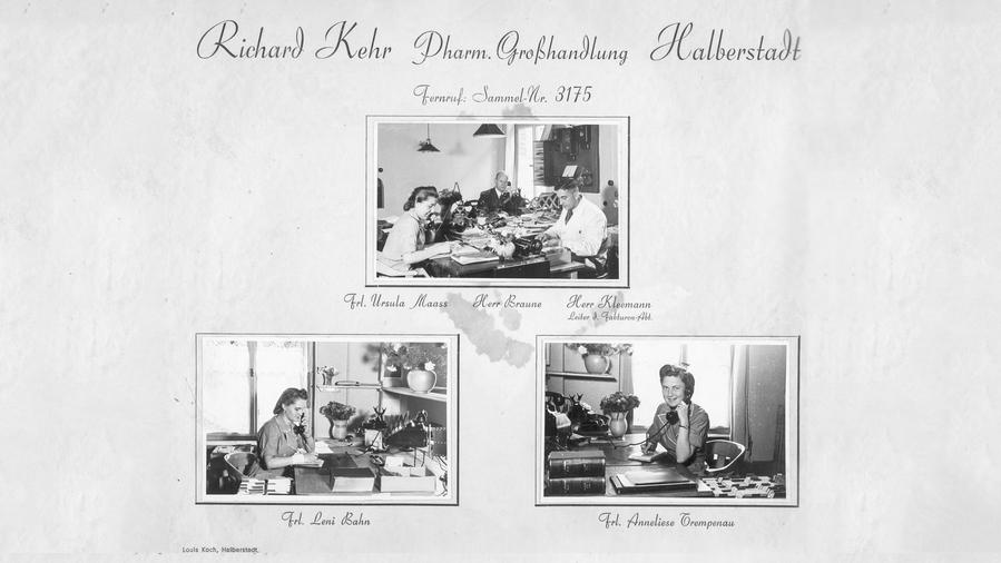 1924 erwirbt Richard Kehr in Halberstadt den Chemikaliengroßhändler Johanna Azzalino.