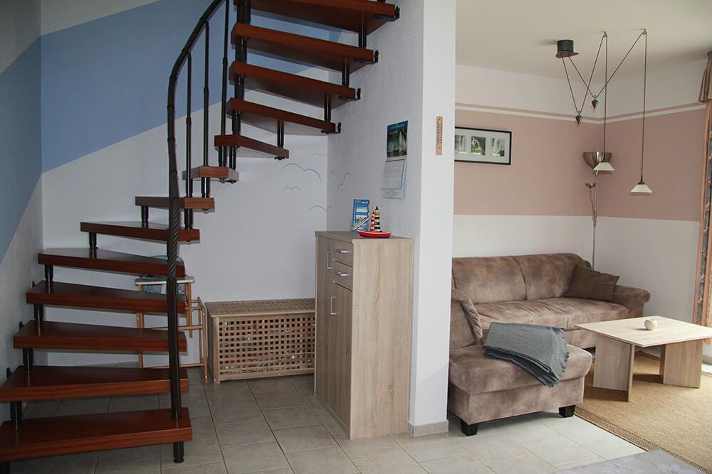 Aufgang Obergeschoss