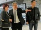Andreas Sauer im Gespräch mit Ingrid Fischbach und Ingo Wellenreuther