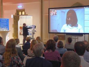 Besonders spannend war die Live-Präsentation des Konzepts.