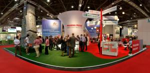 Messestand A-plus und PHARMA PRIVAT Expopharm 2011